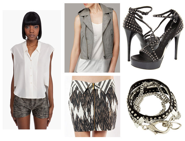 Theyskens' Theory, 7 For All Mankind, Sass and Bide, Burberry, Alexandra Beth