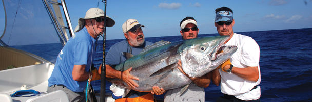 THE PATH TO TROSSET'S WORLD-RECORD DOGTOOTH TUNA